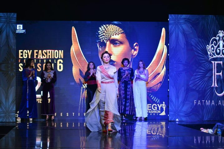 مريم أيوب تتألق في مهرجان ايجي فاشن الدولي