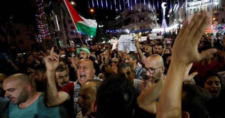 مسيرة في برقين للمطالبة باسترداد جثمان الشهيد يوسف صبح