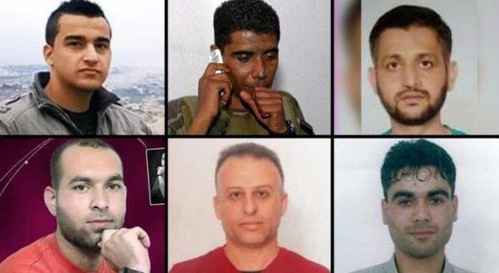 """الاحتلال يمدد توقيف اسرى """"نفق الحرية"""""""