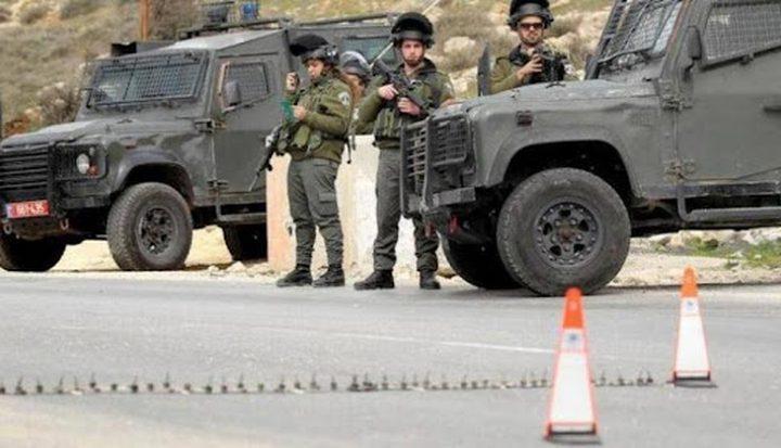 الاحتلال يغلق المدخل الجنوبي لبلدة نحالين غرب بيت لحم