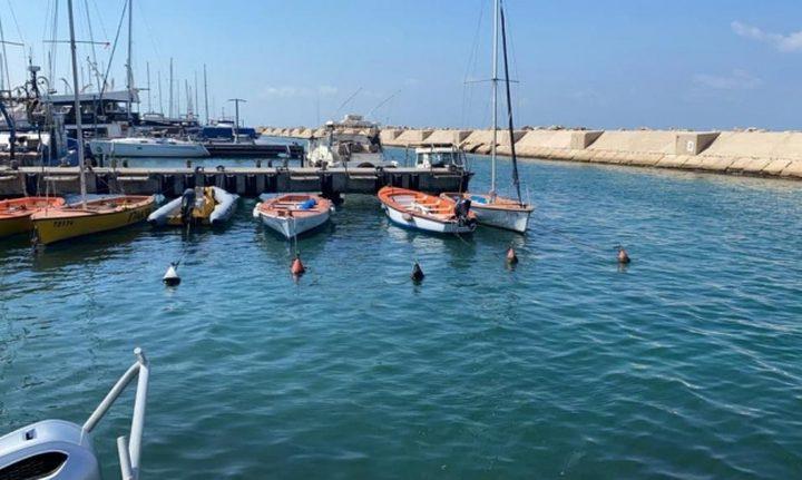 إغلاق المجال البحري لميناء يافا بعد العثور على صاروخ
