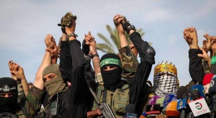 الغرفة المشتركة تصدر بياناً بشأن تطورات الأحداث في فلسطين