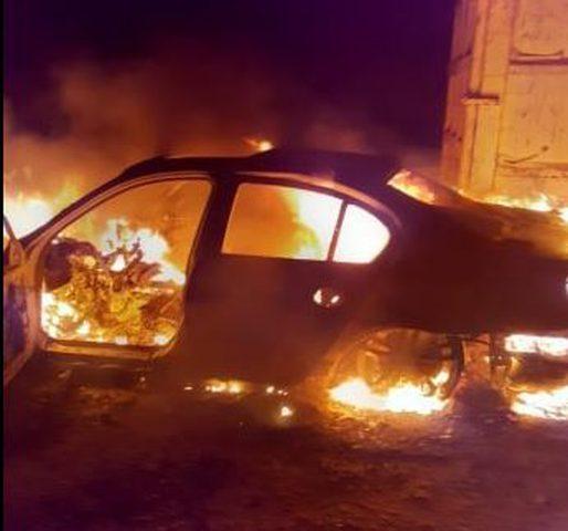 الشرطة تكشف ملابسات قضية حرق مركبة مواطن في بيت لحم