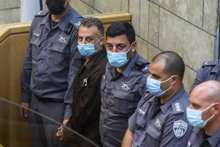 """محكمة الاحتلال ترفض إحضار """"أسرى جلبوع"""" إلى جلسة محاكمتهم"""