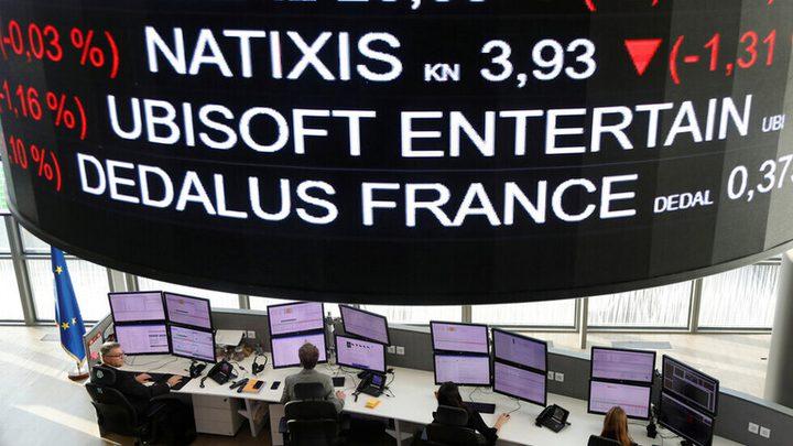 الأسهم الأوروبية عند أدنى مستوياتها في شهرين