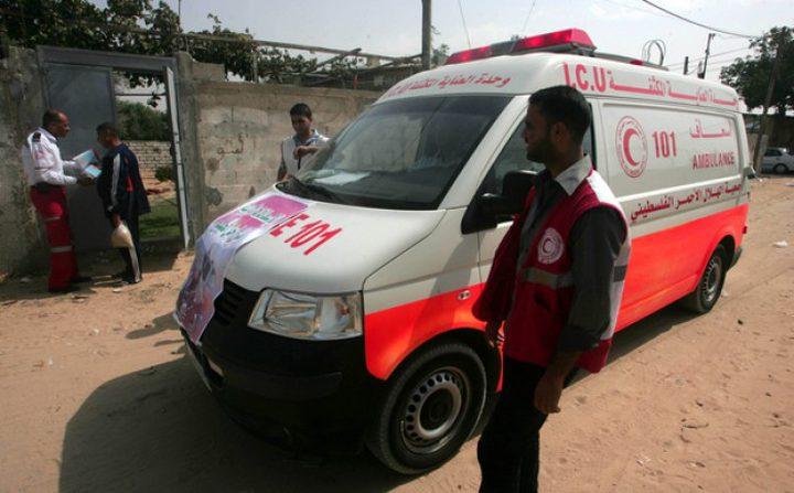 إصابة مواطنين بانفجار عرضي غرب غزة