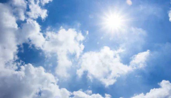 الطقس : أجواء غائمة جزئياً و درجات الحرارة معتدلة