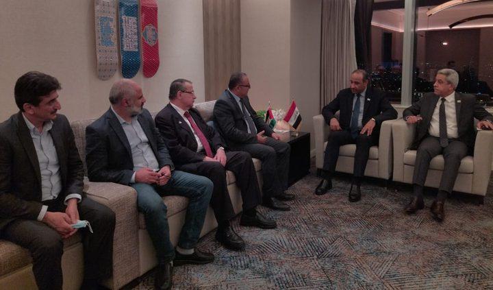 وزير الثقافة يبحث مع نظيره العراقي التعاون المشترك