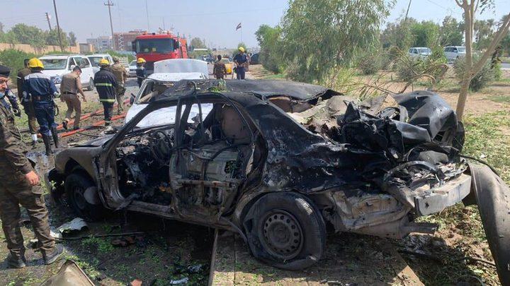 انفجار سيارة مفخخة في محافظة الأنبار غربي العراق