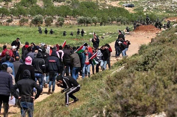 الاحتلال يمسح أراضي واسعة في بلدة الخضر جنوب بيت لحم