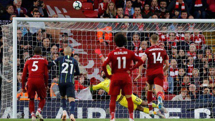 صلاح يحسم واحدة من أقوى المباريات بين ليفربول ومانشستر سيتي