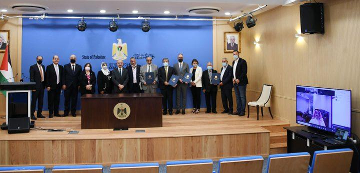 توقيع المرحلة الأولى من مخصصات الصناديق العربية والإسلامية