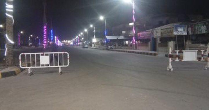 السلطات المصرية تقرر حظر التجوال في محافظة سيناء
