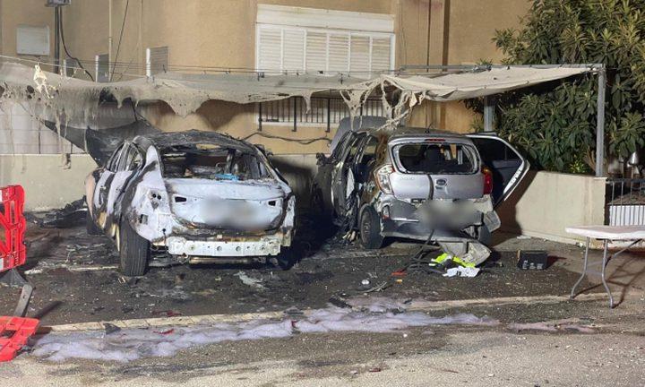 تفجير سيارتين بعبوة ناسفة في حيفا