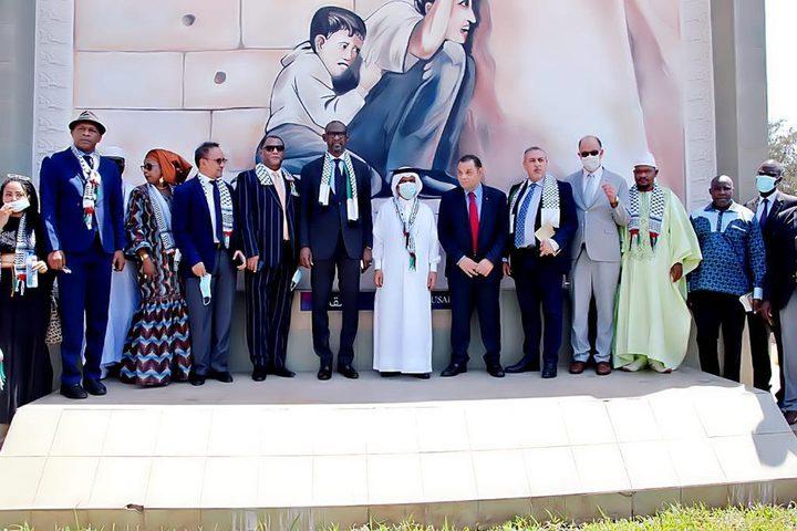 باماكو: تدشين صرح الشهيد محمد الدرة بتعاون فلسطيني- قطري-مالي