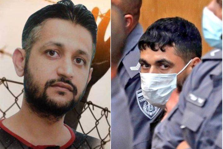 الأسير محمد العارضة يدخل إضرابا مفتوحا عن الطعام