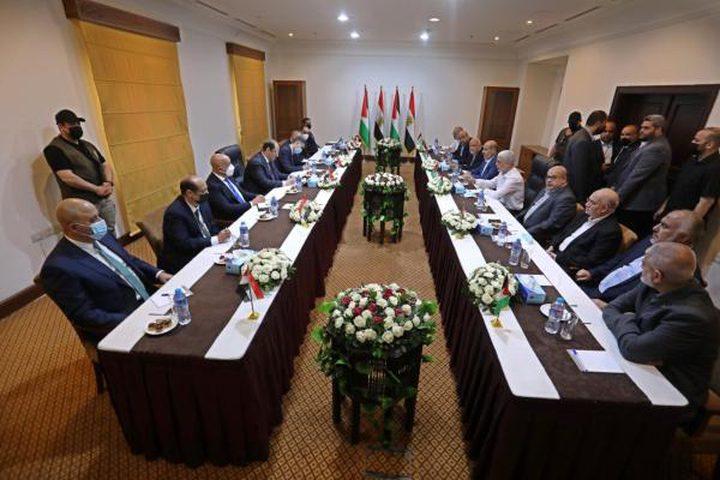 حماس: لقاء قيادة الحركة مع عباس كامل تم في أجواء ايجابية