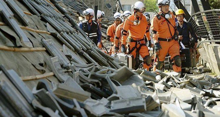 زلزال قوي يهز شمال اليابان وتعليق خدمة القطارات