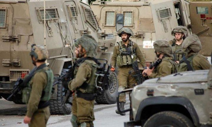 الاحتلال يكثف من تواجده العسكري جنوب غرب جنين
