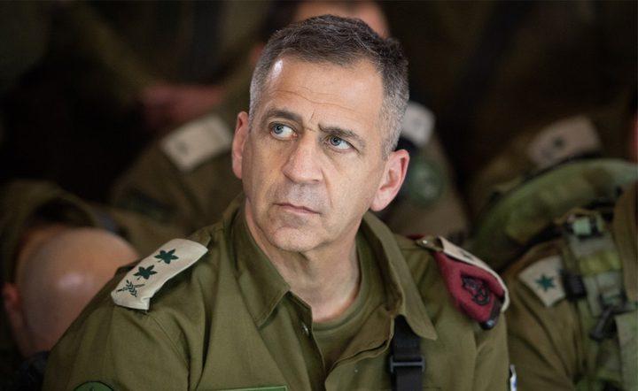 كوخافي يتوعد باستمرار العمليات العسكرية ضد إيران