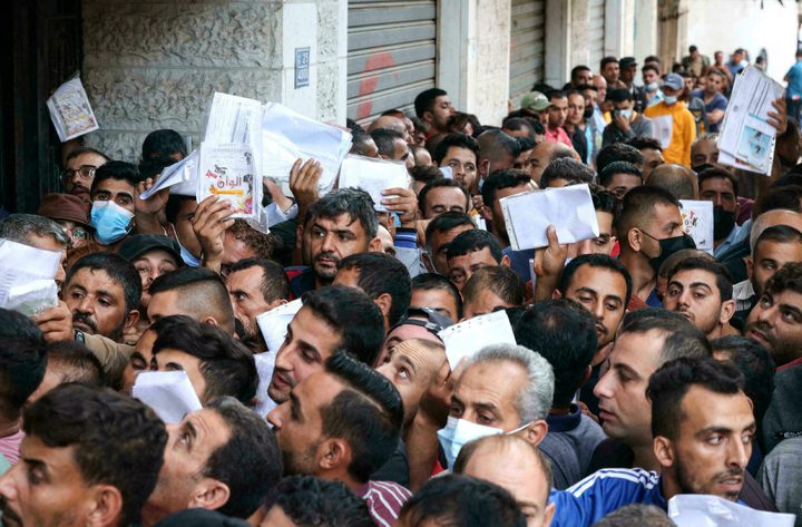 غرفة تجارة غزة تعلن استقبالها 10.447 طلب تصريح للعمل
