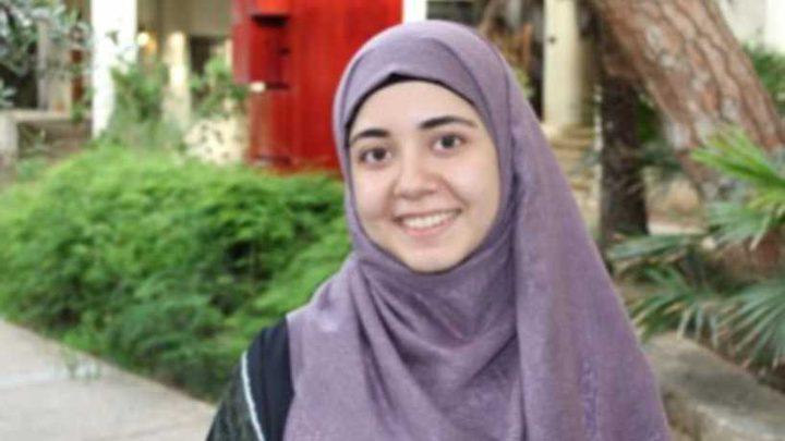 طالبة فلسطينية مرشحة لجائزة أكثر طالب نفوذاً في العالم