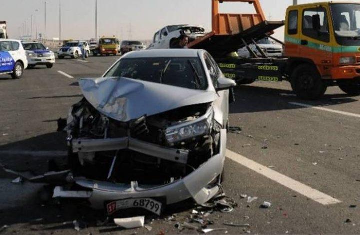 مصرع مواطن في حادث دهس قرب مدينة الرملة