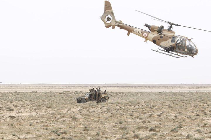 مصرع ثلاثة عسكريين جراء سقوط مروحية جنوب تونس
