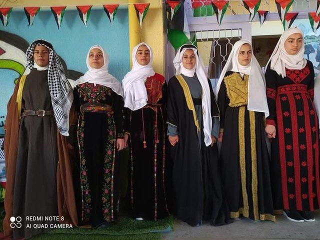مدارس فلسطين تحيي يوم التراث الفلسطيني