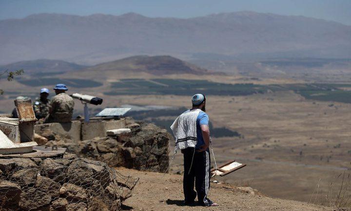 الاحتلال يعتزم بناء مستوطنات جديدة في الجولان السوري المحتل
