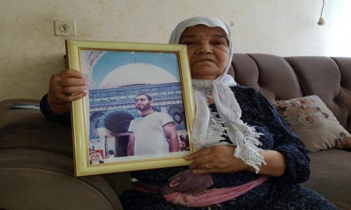 كفر مندا: وفاة والدة شهيد هبة القدس والأقصى رامز بشناق