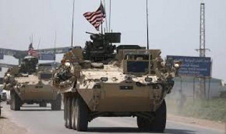 الجيش الأمريكي يدخل شاحنات محملة بالأسلحة إلى ريف الحسكة