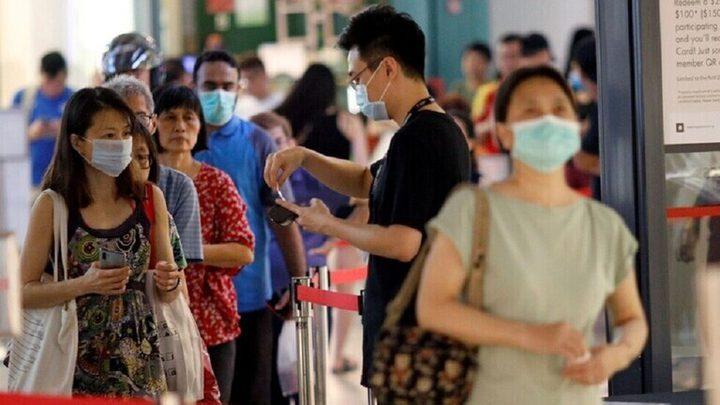 تسجيل 3703 إصابات جديدة بفيروس كورونا في سنغافورة