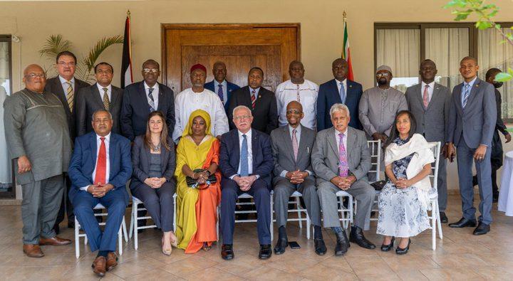وزير الخارجية يلتقي السفراء الأفارقة المعتمدين لدى جنوب إفريقيا
