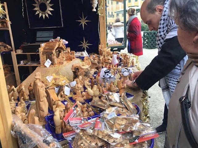 افتتاح فعاليات سوق بيت لحم الثقافي
