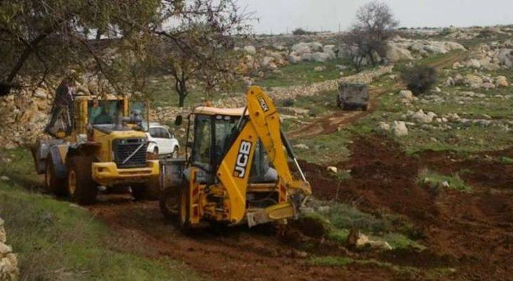 القدس: الاحتلال ينفذ أعمال تجريف في المقبرة اليوسفية