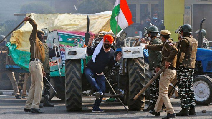 الشرطة الهندية: توقيف نجل وزير في قضية مقتل مزارعين