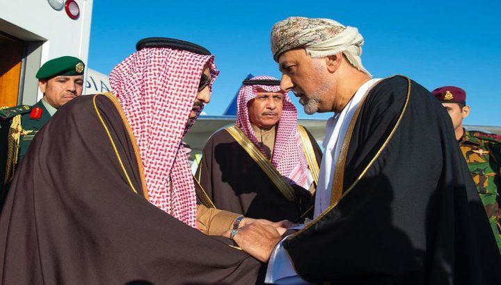 سلطان عمان يعزي العاهل السعودي
