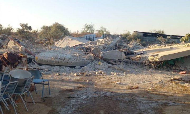سلطات الاحتلال تجبر مواطنا على هدم منزله في كفر قاسم