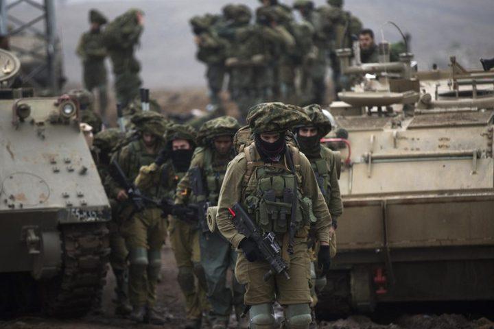 الاحتلال الإسرائيلي يُجري مناورة عسكرية غرب النقب غداً