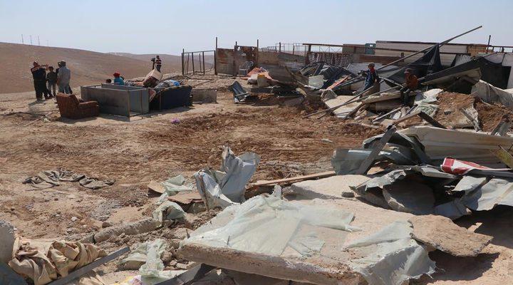 """الاحتلال يهدم مسكنا في تجمع """"أبو النوار"""" شرق القدس"""
