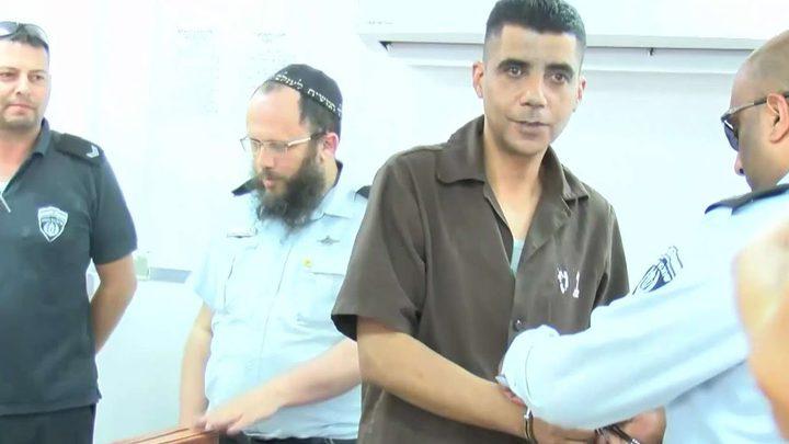نقل الأسير المضرب زكريا الزبيدي إلى عيادة سجن بئر السبع