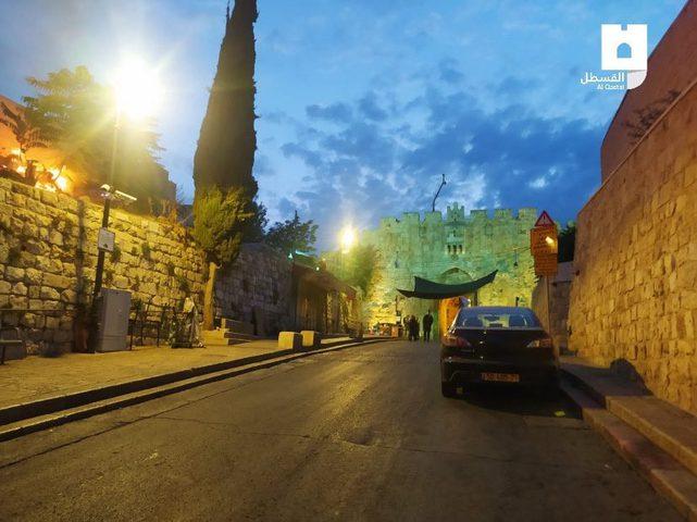اندلاع حريق بمقبرة الرحمة في القدس