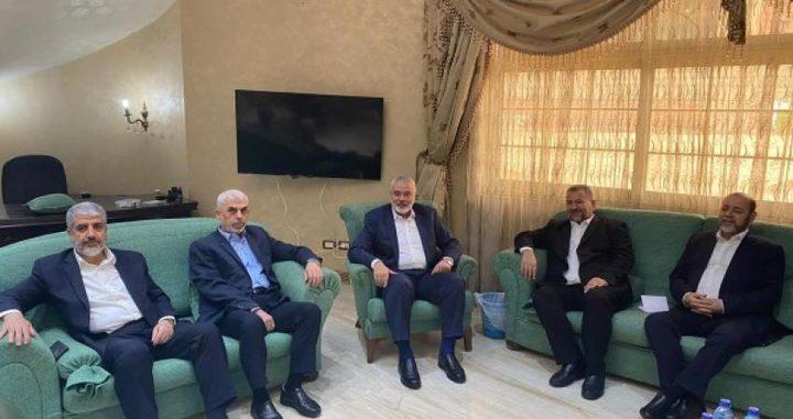حماس:نتائج زيارتنا للقاهرة خلال الأيام القادمة