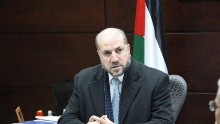 الهباش: الدعم العربي والإسلامي لفلسطين وقدسها واجب ديني