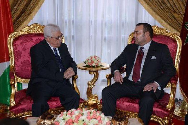 الرئيس عباس يهنئ العاهل المغربي بنجاح الانتخابات وتعيين الحكومة